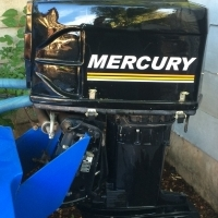 150 hp Mercury 2-stroke outboard for sale. Prop excluded